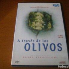 Cine: A TRAVES DE LOS OLIVOS / ABBAS KIAROSTAMI / DVD DESCATALOGADA. Lote 164823606