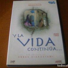 Cine: Y LA VIDA CONTINUA / ABBAS KIAROSTAMI / DVD DESCATALOGADA . Lote 164824146