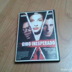 Cine: GIRO INESPERADO -- PHILIP KAUFMAN -- SAMUEL L. JACKSON, ASHSEY JUDO, ANDY GARCÍA -- DVD. Lote 164835950
