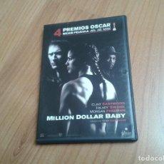Cine: MILLION DOLLAR BABY -- CLINT EASTWOOD -- CLINT EASTWOOD, HILARY SWANK, MORGAN FREEMAN -- DVD. Lote 164837594