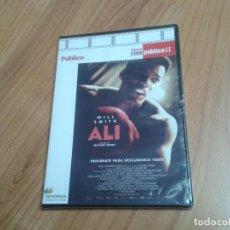 Cine: ALÍ -- MICHAEL MANN -- WILL SMITH -- COLECCIÓN CINE PÚBLICO II -- DVD PRECINTADO. Lote 164838086
