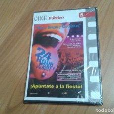 Cine: SEXO, DROGAS Y CARCAJADAS -- MICHAEL WINTERBOTTOM -- CINE PÚBLICO Nº 8 -- DVD PRECINTADO. Lote 164838590