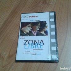 Cine: ZONA LIBRE -- AMOS GITAI -- NATALIE PORTMAN -- CINE PÚBLICO -- DVD PRECINTADO. Lote 164839134