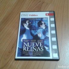 Cine: NUEVE REINAS -- FABIÁN BIELINSKY - RICARDO DARÍN, GASTÓN PAULS - CINE PÚBLICO Nº 2 - DVD. Lote 164839530
