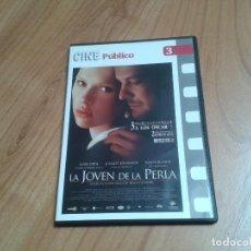 Cine: LA JOVEN DE LA PERLA -- PETER WEBBER - SCARLETT JOHANSSON - CINE PÚBLICO Nº 3 - DVD. Lote 164840150