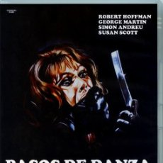 Cine: PASOS DE DANZA SOBRE EL FILO DE UNA NAVAJA DVD PRECINTADO IMPORTACIÓN GIALLO DE CULTO GEORGE MARTIN. Lote 194875705