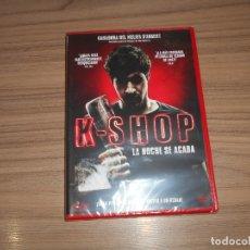 Cine: K-SHOP LA NOCHE SE ACABA DVD TERROR NUEVA PRECINTADA. Lote 222054536