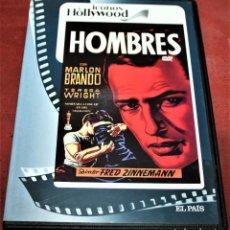 Cine: DVD - HOMBRES - DIR. FRED ZINNEMANN. Lote 164872410