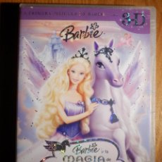 Cine: DVD - INFANTIL - DIBUJOS ANIMADOS - BARBIE - Y LA MAGIA DE PEGASO - 3D . Lote 164876546