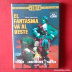 Cine: EL FANTASMA VA AL OESTE. RENÉ CLAIR (PRECINTADA). Lote 164919258