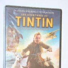Cine: TINTIN: LE SECRET DE LA LICORNE *** PELÍCULA DVD EN FRANCÉS *** PRECINTADA. Lote 165182154