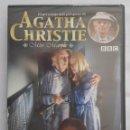 Cine: DVD CINE / AGATHA CHRISTIE MISS MARPLE - UN CRIMEN DORMIDO / NUEVA Y PRECINTADA. Lote 165238206