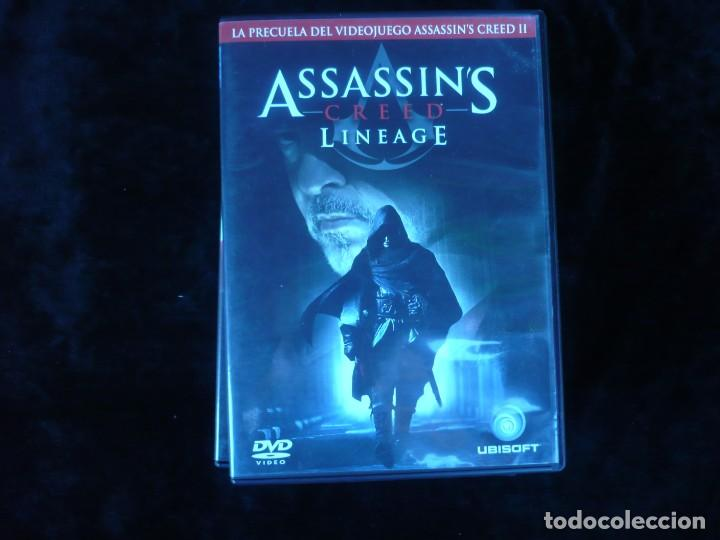 Assassin S Creed Lineage Dvd Casi Como Nuevo Buy Dvd Movies At