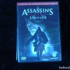 Assassin S Creed Lineage Dvd Casi Como Nuevo Buy Dvd Movies At