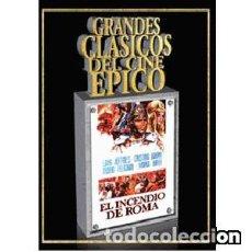 Cine: EL INCENDIO DE ROMA DIRECTOR: GUIDO MALATESTA ACTORES: LANG JEFFRIES, CRISTINA GAIONI, MARIO FELIC. Lote 165317778