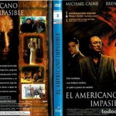 Cine: EL AMERICANO IMPASIBLE. - DVD. PHILLIP NOYCE. EEUU. 2002. DRAMA.. Lote 165463694