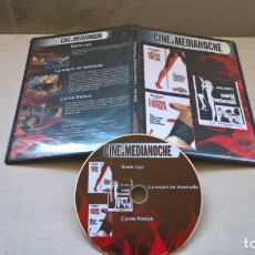 Cine: CINE DVD: SEDA ROJA - LA ESPIA SE DESNUDA - CARNE FRESCA JESS FRANCO (ABLN). Lote 165515646