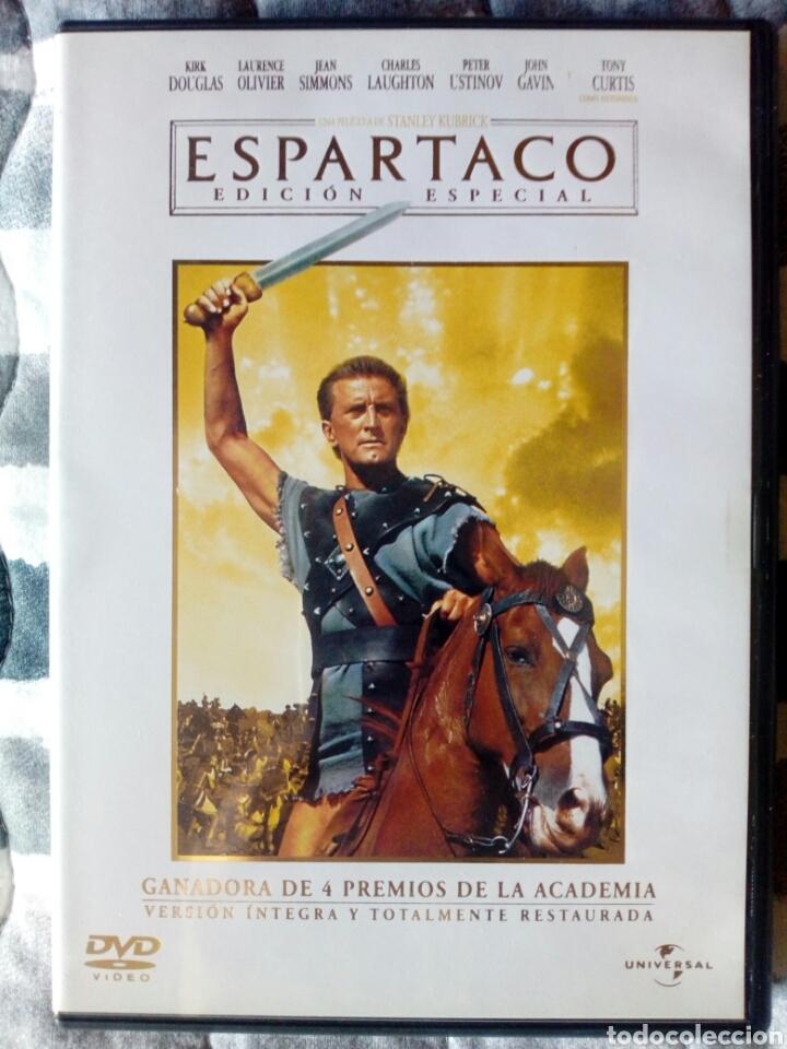 Cine: Espartaco - Edición especial 2 DVDs - Foto 2 - 165536118