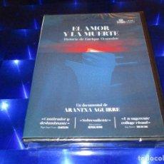 Cine: EL AMOR Y LA MUERTE ( HISTORIA DE ENRIQUE GRANADOS ) - DVD - PRECINTADO - ARANTXA AGUIRRE. Lote 165742438