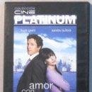 Cine: AMOR CON PREAVISO - HUGH GRANT SANDRA BULLOCK - DVD . Lote 165778582