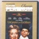 Cine: UN GANGSTER PARA UN MILAGRO - GLENN FORD - DVD . Lote 165778882
