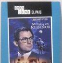 Cine: MATAR A UN RUISEÑOR - GREGORY PECK - ESTUCHE CARTON - DVD . Lote 165780030