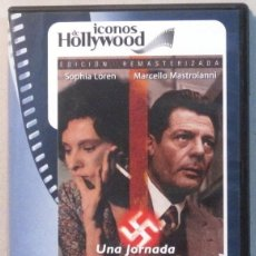 Cine: UNA JORNADA PARTICULAR - SOPHIA LOREN MARCELLO MASATROIANI - DVD . Lote 165780870