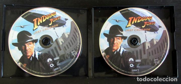 Cine: TRILOGIA INDIANA JONES VERSION CHINA RARE THE COMPLETE VCD MOVIE COLLECTION - Foto 4 - 165829262
