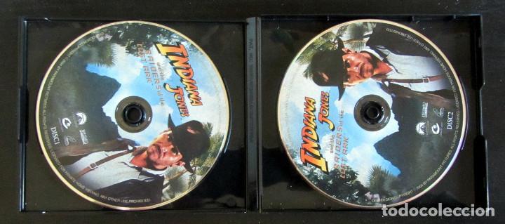 Cine: TRILOGIA INDIANA JONES VERSION CHINA RARE THE COMPLETE VCD MOVIE COLLECTION - Foto 5 - 165829262