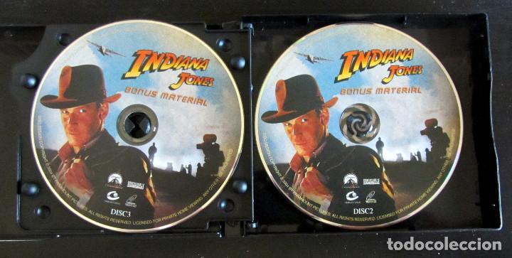 Cine: TRILOGIA INDIANA JONES VERSION CHINA RARE THE COMPLETE VCD MOVIE COLLECTION - Foto 7 - 165829262