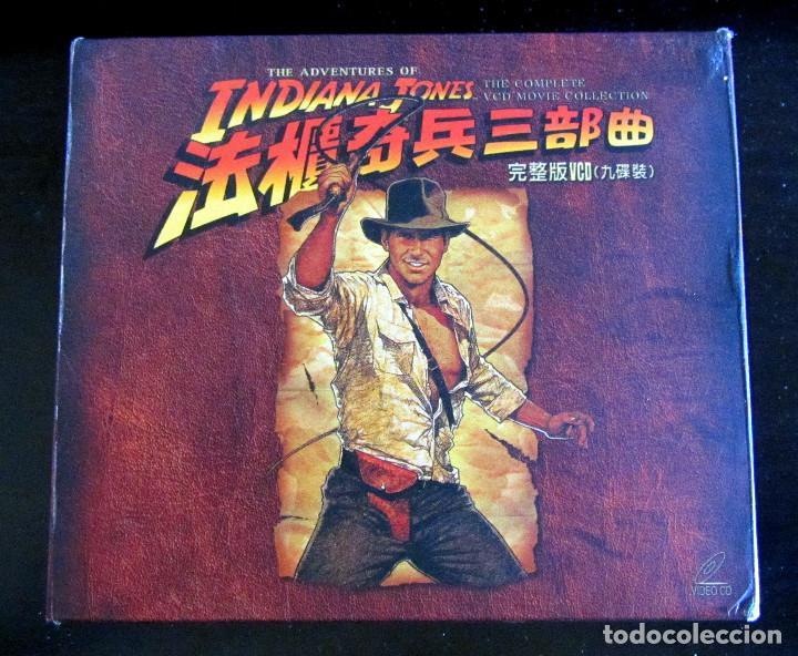 TRILOGIA INDIANA JONES VERSION CHINA RARE THE COMPLETE VCD MOVIE COLLECTION (Cine - Películas - DVD)