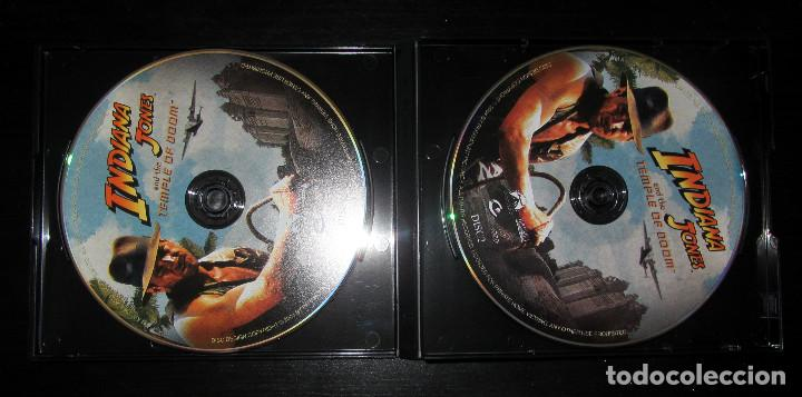Cine: TRILOGIA INDIANA JONES VERSION CHINA RARE THE COMPLETE VCD MOVIE COLLECTION - Foto 2 - 165829262