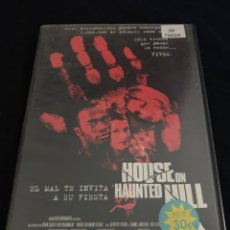 Cine: ( V113 ) HOUSE ON HAUNTED HILL - FAMKE JANSSEN ( DVD PROCEDENTE VIDEOCLUB ). Lote 165843732