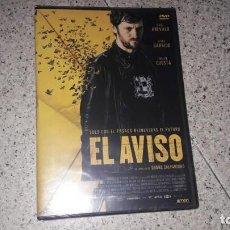 Cine: EL AVISO DVD PRECINTADO THRILLER CINE ESPAÑOL. Lote 186022545