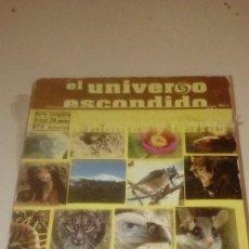 Cine: G-RN18 DVD EL UNIVERSO ESCONDIDO LOTE DE 4 DVD CON ESTUCHE NUEVOS. Lote 165901314