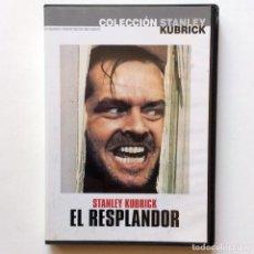 Cine: EL RESPLANDOR - STANLEY KUBRICK - DVD. Lote 165965234