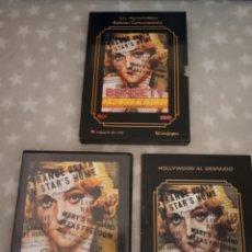 Cine: DVD. HOLLYWOOD AL DESNUDO. ED. COLECCIONISTA. INCLUYE LIBRETO DE 60 PÁGS.. Lote 166169741