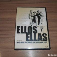 Cine: ELLOS Y ELLAS DVD MARLON BRANDO NUEVA PRECINTADA. Lote 166190249