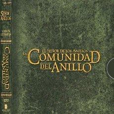 Cine: EL SEÑOR DE LOS ANILLOS: LA COMUNIDAD DEL ANILLO VERSIÓN EXTENDIDA DVD DE COLECCIONISTA. Lote 166202082