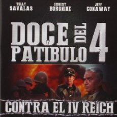 Cine: DOCE DEL PATÍBULO 4: CONTRA EL IV REICH - THE DIRTY DOZEN: THE FATAL MISSION (NUEVO). Lote 166255654