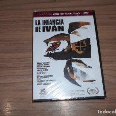 Cine: LA INFANCIA DE IVAN EDICION ESPECIAL DVD DE ANDREI TARKOVSKY NUEVA PRECINTADA. Lote 218919841