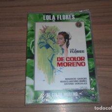 Cine: DE COLOR MORENO DVD LOLA FLORES NUEVA PRECINTADA. Lote 179317067