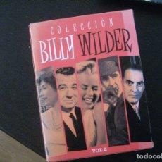 Cine: COLECCION BILLY WILDER - VOL 2 -PACK 5 DVDS LA TENTACIÓN VIVE -EL APARTAMENTO/EN BANDEJA DE PLATA. Lote 166262934