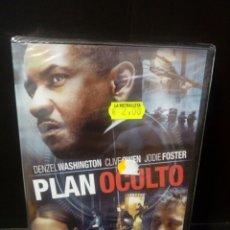 Cine: PLAN OCULTO DVD. Lote 166264888