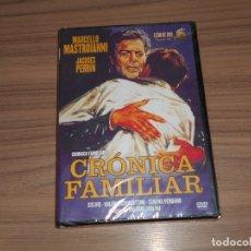 Cine: CRONICA FAMILIAR DVD MARCELLO MASTROIANNI NUEVA PRECINTADA. Lote 293754563