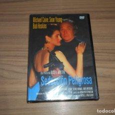 Cinema: SEDUCCION PELIGROSA DVD MICHAEL CAINE NUEVA PRECINTADA. Lote 190389766