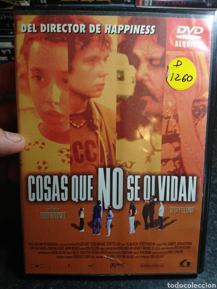 COSAS QUE NO SE OLVIDAN, DVD DESCATALOGADO (STORYTELLING) (Cine - Películas - DVD)