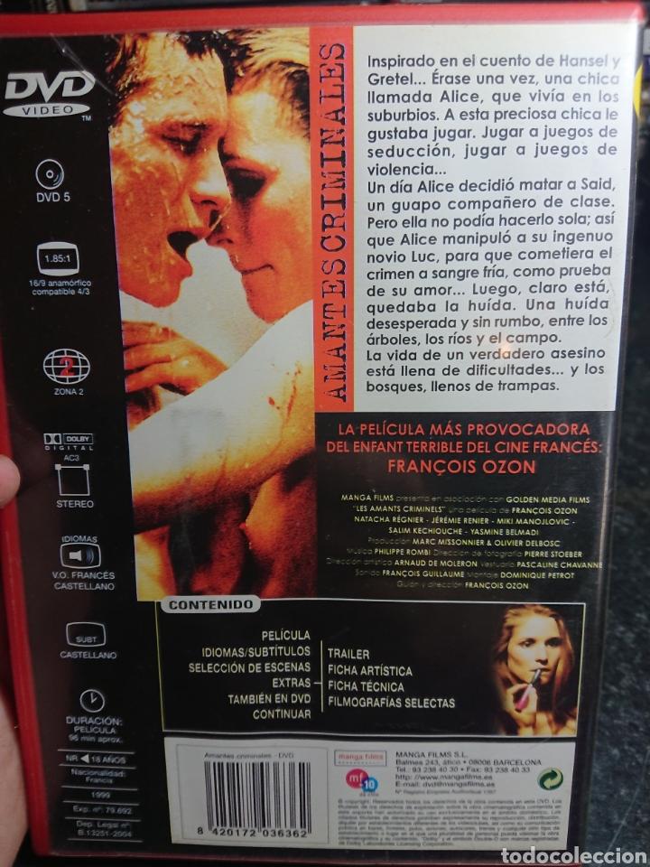 Cine: Amantes Criminales (François Ozon, 1999) Descatalogada - Foto 2 - 166304478