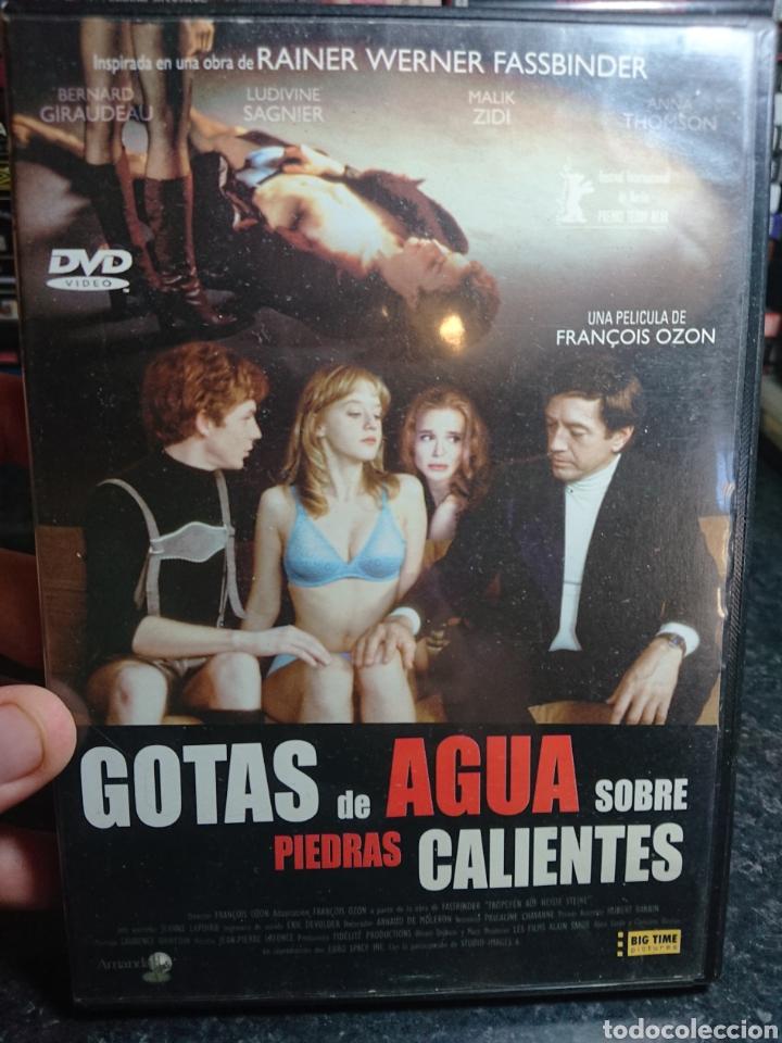 GOTAS DE AGUA SOBRE PIEDRAS CALIENTES (FRANÇOIS OZON, 2000) DESCATALOGADA (Cine - Películas - DVD)