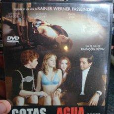 Cine: GOTAS DE AGUA SOBRE PIEDRAS CALIENTES (FRANÇOIS OZON, 2000) DESCATALOGADA. Lote 166304881